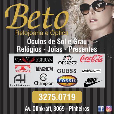 Beto Relojoaria e Óptica em Otacílio Costa - Guia Múltiplo de892dc99f