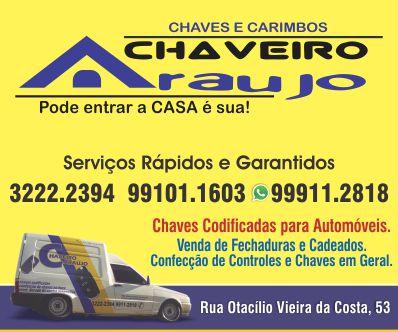 Chaveiro Araújo em Lages - Guia Múltiplo f087610ef1