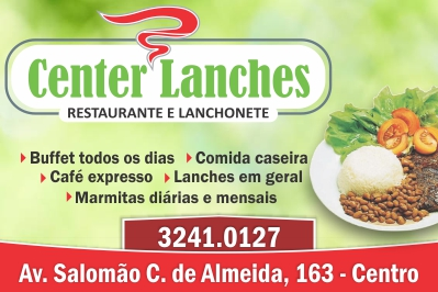 Center Lanches Restaurante e Lanchonete